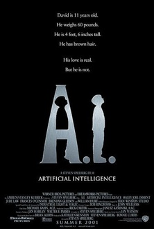 Película A.I. inteligencia artificial