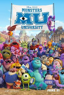 Película Monstruos University