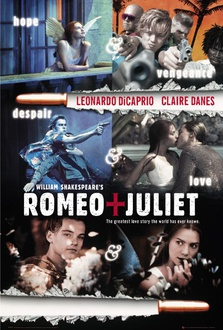 Película Romeo y Julieta, de Willilam Shakespeare